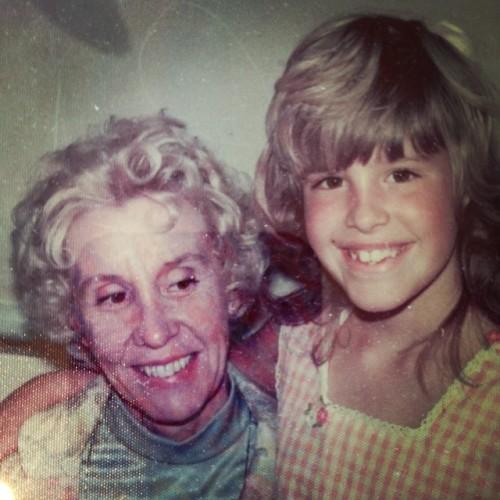Jen and Gram 1974